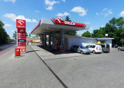 Stacja paliw Pruszcz